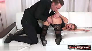 Housewife gagging