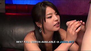 Japanese blowjob scenes with Eririka Katagir