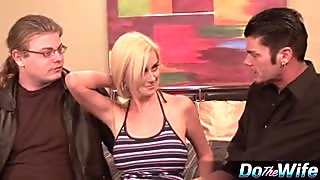 Blond Wife Banged