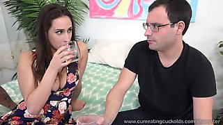 Ashley Adams Gets Fucked Then Fucks Husband with Strap On