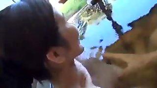 Subtitled اليابانية راشدة tae bathes في في الهواء الطلق onsen