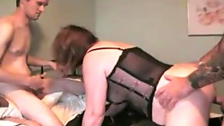 Friends decide to have sex with Clare my wife