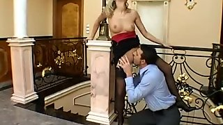 Vid. Of My Gorgeous Blonde Sister's Wild Sex-Affair With Her Married Boss!