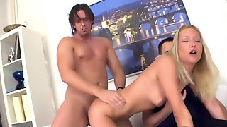 Blonde wife Uma Thompson'_s cuckold fantasies