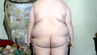 Fat chick trying to lose weight sexy workout naked