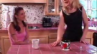 Hot and sexy MILF seduces her teen boyfriend