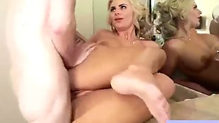 Hardcore Sex Tape With Round Big Tits Horny Wife movie-27