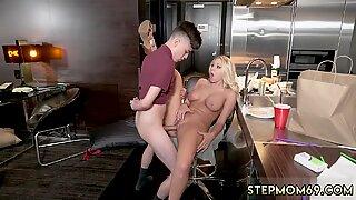 Horny Step Mom Gets Slammed - Katie Morgan