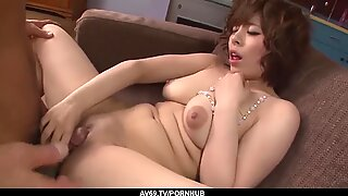 Busty Wife, Ririsu Ayaka, Strong Sex on Cam in Insane X - more at 69avs com