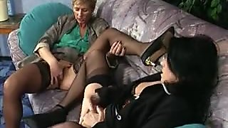 Nasty mature housewives go crazy