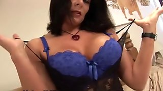 Sensual mature lady with big tits loves part6
