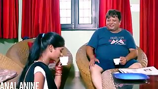 Analanine-hot هندية خادمة تجعل اليوم جيدًا